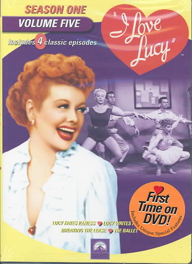 I LOVE LUCY:SEASON ONE VOL 5 BY I LOVE LUCY (DVD)