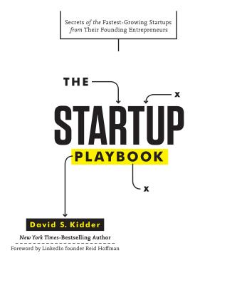 The Startup Playbook By Kidder, David
